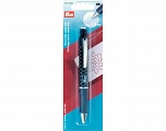 with 2 white cartridges 0.9 mm Extrafine cartridge pencil. Ideal for fine markings and when working wih templates; integrated eraser reduces the marking; complete removal through washing Brand PRYM, acs-866