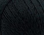 Fiber Content 70% Mercerised Cotton, 30% Viscose, Brand KUKA, Black, Yarn Thickness 2 Fine  Sport, Baby, fnt2-16798