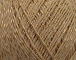 Fiber Content 70% Mercerised Cotton, 30% Viscose, Brand KUKA, Camel Brown, Yarn Thickness 2 Fine  Sport, Baby, fnt2-16800