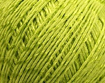 Fiber Content 70% Mercerised Cotton, 30% Viscose, Brand KUKA, Green, Yarn Thickness 2 Fine  Sport, Baby, fnt2-16807