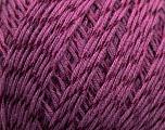 Fiber Content 70% Mercerised Cotton, 30% Viscose, Maroon, Brand KUKA, Yarn Thickness 2 Fine  Sport, Baby, fnt2-16808