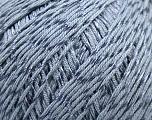 Fiber Content 70% Mercerised Cotton, 30% Viscose, Brand KUKA, Grey, Yarn Thickness 2 Fine  Sport, Baby, fnt2-17518