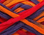 Fiber Content 100% Acrylic, Red, Purple, Orange, Brand ICE, Yarn Thickness 6 SuperBulky  Bulky, Roving, fnt2-20921