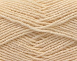 Fiber Content 55% Virgin Wool, 5% Cashmere, 40% Acrylic, Brand ICE, Cream, Yarn Thickness 2 Fine  Sport, Baby, fnt2-21112