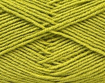 Fiber Content 55% Virgin Wool, 5% Cashmere, 40% Acrylic, Brand ICE, Green, Yarn Thickness 2 Fine  Sport, Baby, fnt2-21119