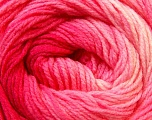 Fiber Content 100% Acrylic, Pink Shades, Brand ICE, Yarn Thickness 3 Light  DK, Light, Worsted, fnt2-22021
