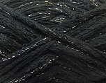 A beautiful new scarf yarn. One ball is enough to make a beautiful scarf. Knitting instructions are included! Fiber Content 95% Acrylic, 5% Lurex, Brand ICE, Gold, Black, Yarn Thickness 6 SuperBulky  Bulky, Roving, fnt2-22569