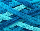 Fiber Content 100% Acrylic, Turquoise Shades, Brand ICE, Yarn Thickness 6 SuperBulky  Bulky, Roving, fnt2-22910