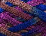 A beautiful new scarf yarn. One ball is enough to make a beautiful scarf. Knitting instructions are included! Fiber Content 100% Acrylic, Purple, Brand ICE, Brown, Blue, Yarn Thickness 6 SuperBulky  Bulky, Roving, fnt2-23067
