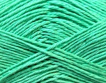 Fiber Content 100% Mercerised Cotton, Mint Green, Brand ICE, Yarn Thickness 2 Fine  Sport, Baby, fnt2-23333