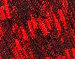 Trellis  Fiber Content 100% Polyester, Red, Brand ICE, Black, Yarn Thickness 5 Bulky  Chunky, Craft, Rug, fnt2-24048