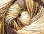 Fiber Content 100% Premium Acrylic, White, Brand ICE, Cream, Camel, Brown, Yarn Thickness 3 Light  DK, Light, Worsted, fnt2-24557