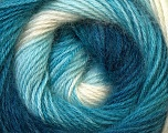 Fiber Content 55% Acrylic, 45% Angora, White, Navy, Brand ICE, Blue Shades, Yarn Thickness 2 Fine  Sport, Baby, fnt2-26798