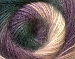 Fiber Content 55% Acrylic, 45% Angora, White, Lilac, Light Pink, Brand ICE, Grey, Yarn Thickness 2 Fine  Sport, Baby, fnt2-26938