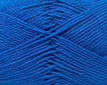 Fiber Content 100% Mercerised Cotton, Brand ICE, Blue, Yarn Thickness 2 Fine  Sport, Baby, fnt2-32542