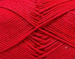 Fiber Content 100% Mercerised Cotton, Tomato Red, Brand ICE, Yarn Thickness 2 Fine  Sport, Baby, fnt2-32544