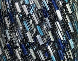 Trellis  Fiber Content 100% Polyester, White, Light Blue, Lavender, Brand ICE, Yarn Thickness 5 Bulky  Chunky, Craft, Rug, fnt2-36627