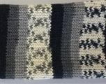 Fiber Content 75% Superwash Wool, 25% Polyamide, Navy, Brand ICE, Grey Shades, Cream, fnt2-36947