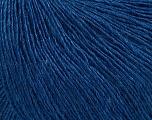 Fiber Content 50% Silk, 30% Merino Superfine, 20% Cashmere, Brand ICE, Blue, Yarn Thickness 1 SuperFine  Sock, Fingering, Baby, fnt2-37017