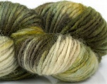 In this yarn a 100% Wool yarn is used. Dyeing process is totally hand made with natural plants and NO chemicals were used. For this reason, please be advised that some white parts may remain. Fiber Content 100% Wool, Brand ICE, Green Shades, Brown Shades, Yarn Thickness 4 Medium  Worsted, Afghan, Aran, fnt2-37320