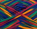 Fiber Content 100% Acrylic, Rainbow, Brand ICE, fnt2-37467