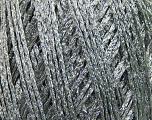 Fiber Content 50% Cotton, 42% Viscose, Silver, Brand ICE, Grey, fnt2-37569