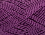 Fiber Content 60% Viscose, 40% Cotton, Purple, Brand ICE, fnt2-37601
