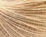 Fiber Content 50% Merino Wool, 25% Acrylic, 25% Alpaca, Brand ICE, Cream melange, fnt2-38168