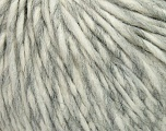 Composition 35% Acrylique, 30% Laine, 20% Alpaca Superfine, 15% Viscose, White, Brand ICE, Grey, Yarn Thickness 5 Bulky  Chunky, Craft, Rug, fnt2-38185