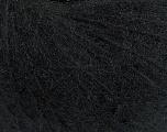 Fiber Content 45% Polyamide, 30% Wool, 25% Alpaca Superfine, Brand ICE, Black, fnt2-38211