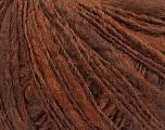 Fiber Content 50% Wool, 30% Acrylic, 20% Alpaca, Brand ICE, Copper, Brown, fnt2-38343