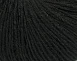 Fiber Content 50% Baby Alpaca, 50% Silk, Brand ICE, Black, fnt2-38394