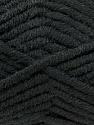 Fiber Content 50% Acrylic, 50% Merino Wool, Brand KUKA, Black, Yarn Thickness 5 Bulky  Chunky, Craft, Rug, fnt2-16720