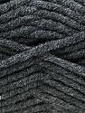 Fiber Content 50% Merino Wool, 50% Acrylic, Brand KUKA, Dark Grey, Yarn Thickness 5 Bulky  Chunky, Craft, Rug, fnt2-16721