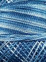 Fiber Content 100% Micro Fiber, Brand YarnArt, Blue Shades, Yarn Thickness 0 Lace  Fingering Crochet Thread, fnt2-17329