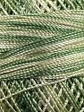 Fiber Content 100% Micro Fiber, Brand YarnArt, Green Shades, Yarn Thickness 0 Lace  Fingering Crochet Thread, fnt2-17330