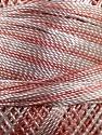 Fiber Content 100% Micro Fiber, Brand YarnArt, White, Light Orange, Yarn Thickness 0 Lace  Fingering Crochet Thread, fnt2-17331