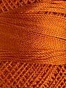 Fiber Content 100% Micro Fiber, Brand YarnArt, Orange, Yarn Thickness 0 Lace  Fingering Crochet Thread, fnt2-17830