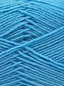 Fiber Content 55% Virgin Wool, 5% Cashmere, 40% Acrylic, Light Blue, Brand ICE, Yarn Thickness 2 Fine  Sport, Baby, fnt2-21120