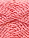 Fiber Content 55% Virgin Wool, 5% Cashmere, 40% Acrylic, Light Pink, Brand ICE, Yarn Thickness 2 Fine  Sport, Baby, fnt2-21124