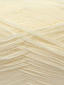 Very thin yarn. It is spinned as two threads. So you will knit as two threads. Fiber Content 100% Acrylic, Brand ICE, Ecru, Yarn Thickness 1 SuperFine  Sock, Fingering, Baby, fnt2-22435