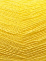 Very thin yarn. It is spinned as two threads. So you will knit as two threads. Fiber Content 100% Acrylic, Yellow, Brand ICE, Yarn Thickness 1 SuperFine  Sock, Fingering, Baby, fnt2-22454