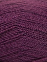 Very thin yarn. It is spinned as two threads. So you will knit as two threads. Fiber Content 100% Acrylic, Maroon, Brand ICE, Yarn Thickness 1 SuperFine  Sock, Fingering, Baby, fnt2-22460