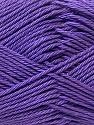 Fiber Content 100% Mercerised Cotton, Purple, Brand ICE, Yarn Thickness 2 Fine  Sport, Baby, fnt2-23335