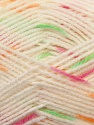 Fiber Content 100% Baby Acrylic, White, Orange, Brand ICE, Green, Fuchsia, Yarn Thickness 2 Fine  Sport, Baby, fnt2-23501