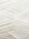 Fine Weight  Fiber Content 100% Acrylic, White, Brand ICE, Yarn Thickness 2 Fine  Sport, Baby, fnt2-24506