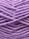 Fiber Content 60% Acrylic, 20% Alpaca, 20% Wool, Lilac, Brand ICE, Yarn Thickness 5 Bulky  Chunky, Craft, Rug, fnt2-25357