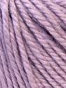 Fiber Content 40% Acrylic, 35% Wool, 25% Alpaca, Lilac, Brand ICE, Yarn Thickness 5 Bulky  Chunky, Craft, Rug, fnt2-25403