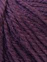 Fiber Content 40% Acrylic, 35% Wool, 25% Alpaca, Purple, Brand ICE, Yarn Thickness 5 Bulky  Chunky, Craft, Rug, fnt2-25404