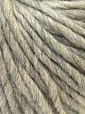 Fiber Content 100% Wool, Light Grey, Brand ICE, Yarn Thickness 5 Bulky  Chunky, Craft, Rug, fnt2-26003